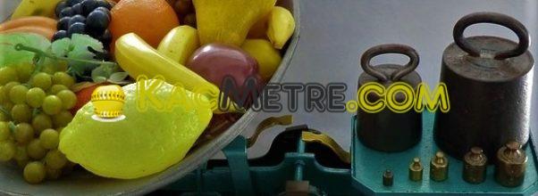 1 kilogram kac gram